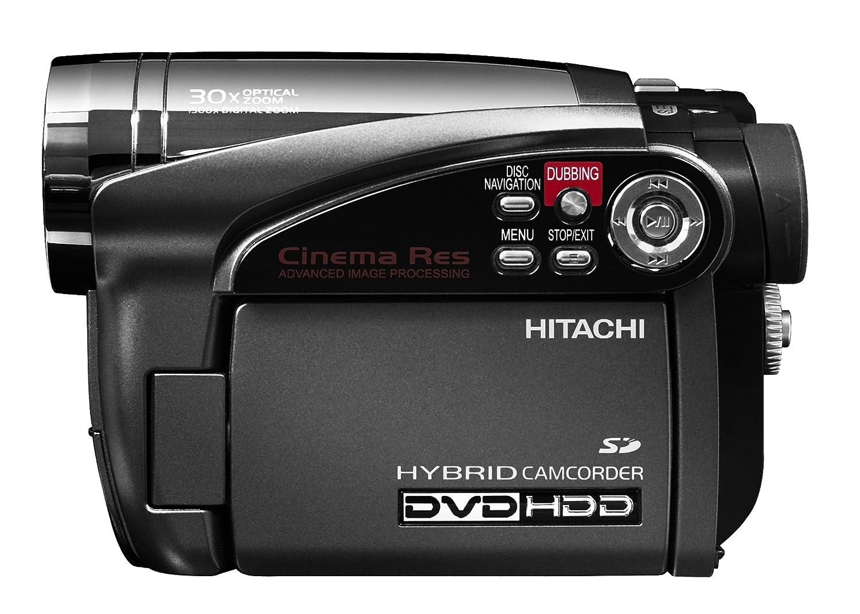 hitachi dzhs500a dvd hybrid camcorder with 30x optical zoom 30gb rh amazon ca hitachi dz-hs500a manual