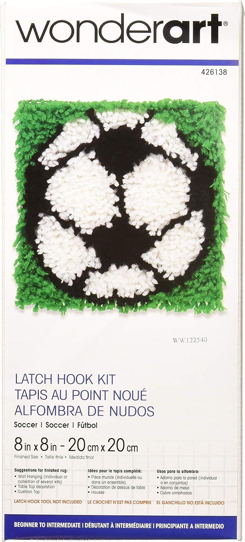 Car 8 by 8-Inch Spinrite Wonderart Latch Hook Kit