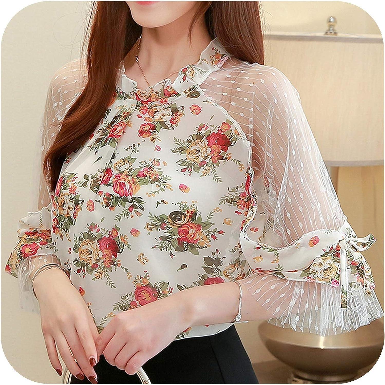 Bubble Boom-blouses Blusas Blusa de Gasa para Mujer - - XX-Large: Amazon.es: Ropa y accesorios