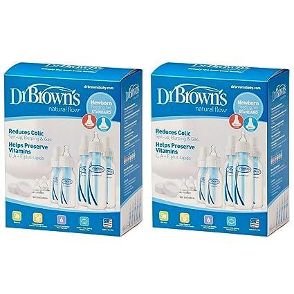 Dr. Brown's Original Bottle Newborn Feeding Set (2 Sets)