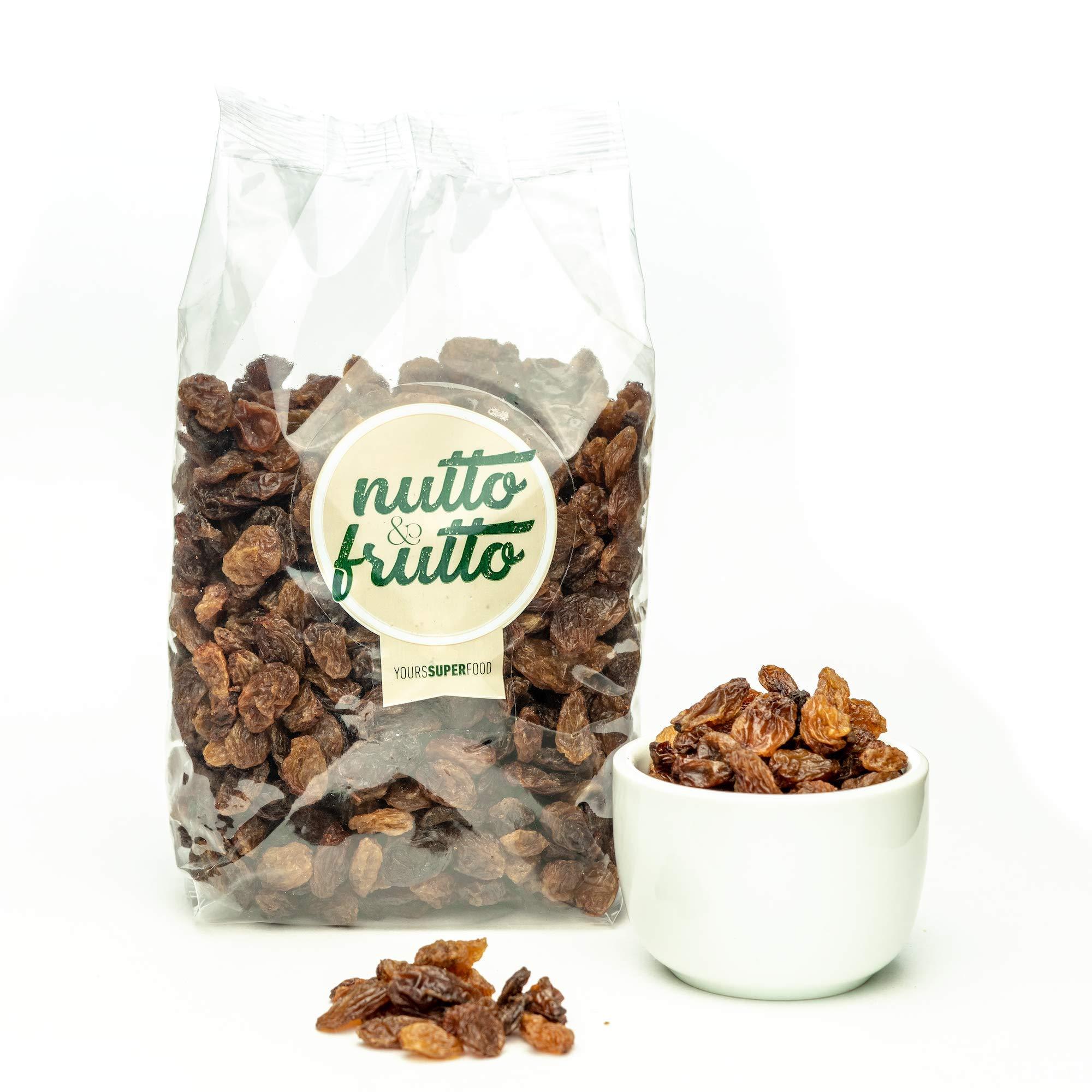 Sultana Raisins By Nutto Frutto Healthy Dried Fruit Bag Full Of Dried Sultana Raisins Seedless Dried Raisins 16 oz (450 gr) by Nutto Frutto