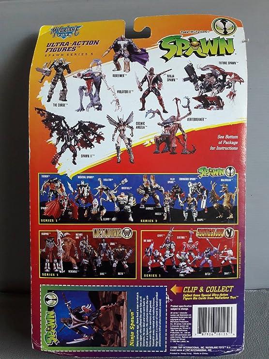 Spawn Series 3 Ninja Spawn Action Figure: Amazon.es ...