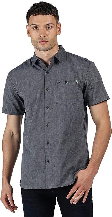 Regatta Damari Camisa Manga Corta Hombre : Amazon.es: Ropa