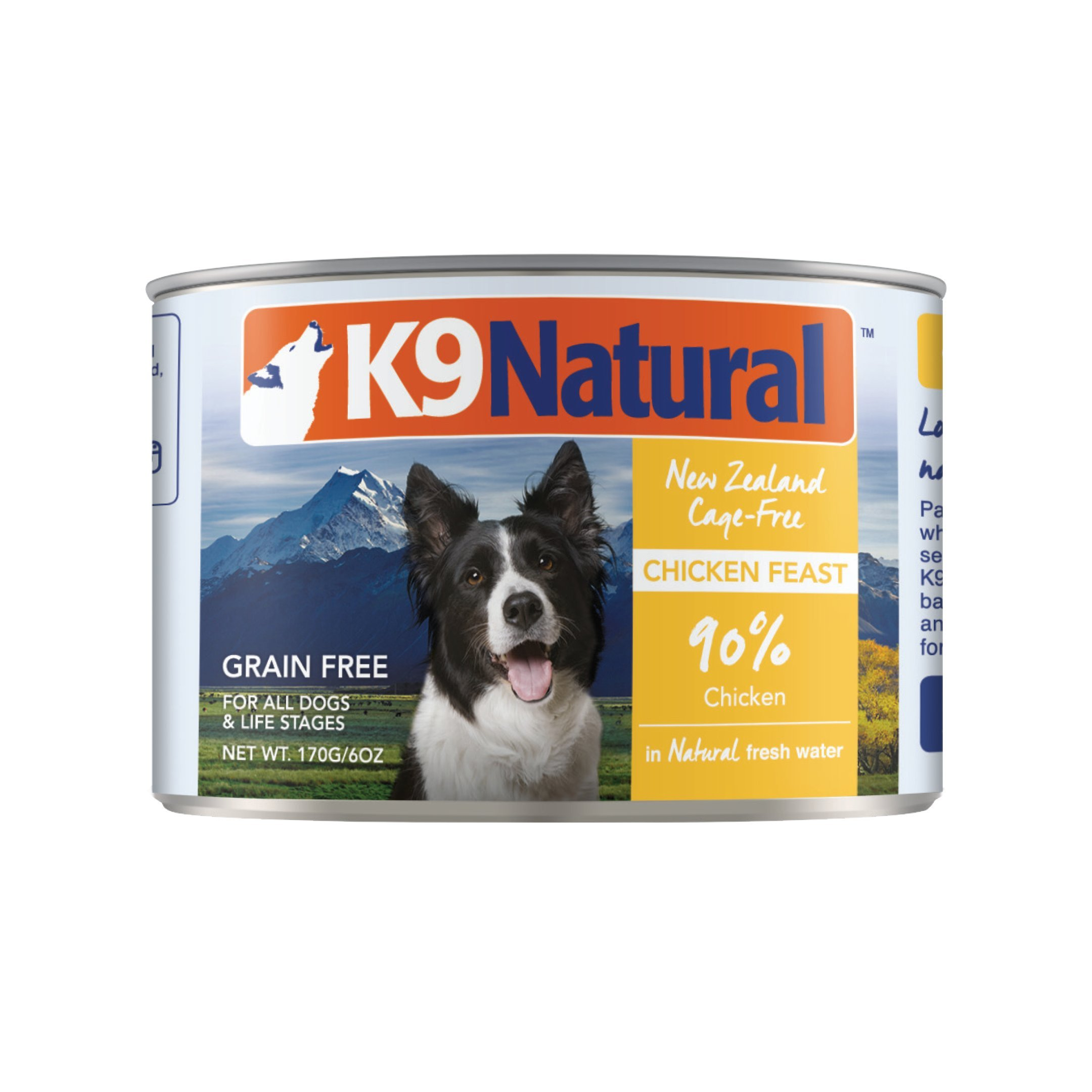 K9 Natural Can Dog Food Chicken 6oz (24 Pack)