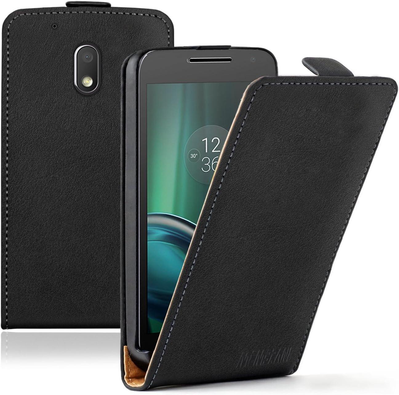 Membrane - Ultra Slim Negro Funda Compatible con Motorola Moto G4 ...