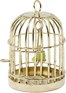 American Heritage Industries Dollhouse Birdcage- Bird Cage for Dollhouse, 1:12 Scaled Pet Accessories for Miniature Dollhouse, an Product