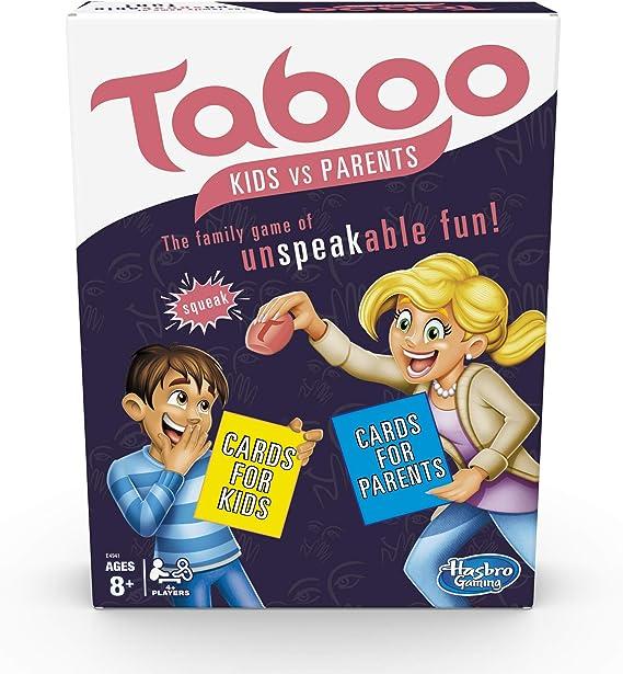 Taboo Kids vs Padres Juego de Mesa Familiar a Partir de 8 años: Amazon.es: Juguetes y juegos