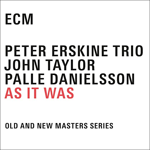 Peter Erskine - As It Was cover