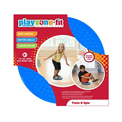 Playzone-fit Twist N Spin Ride-On: Toys & Games