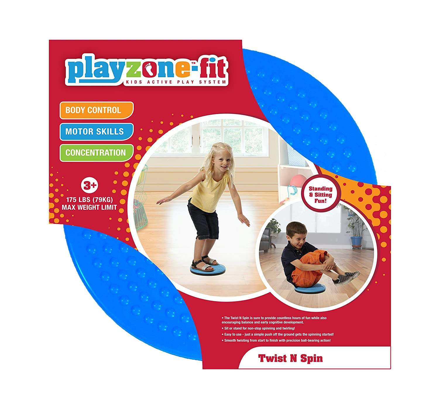 Playzone-fit Twist N Spin Ride-On Brand 44 plz.608