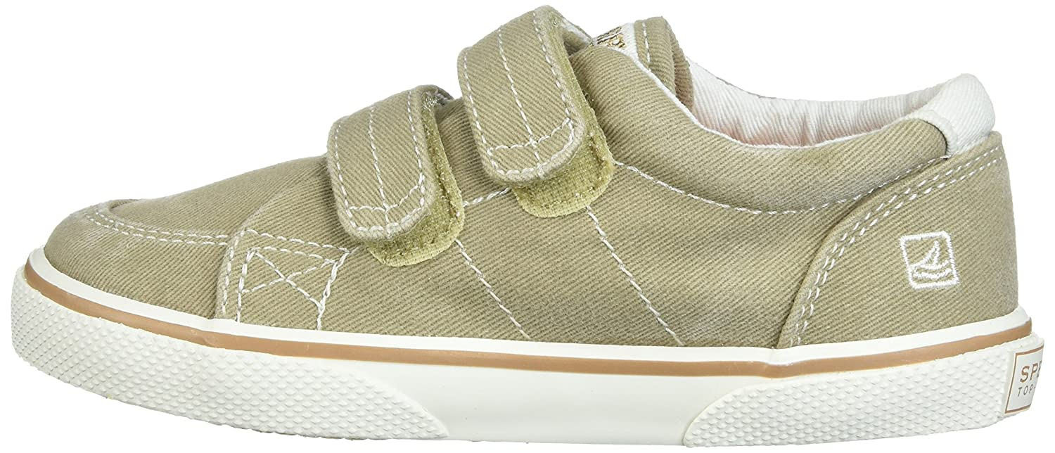 Sperry Halyard Hook /& Loop Boat Shoe K Toddler//Little Kid Halyard H/&L