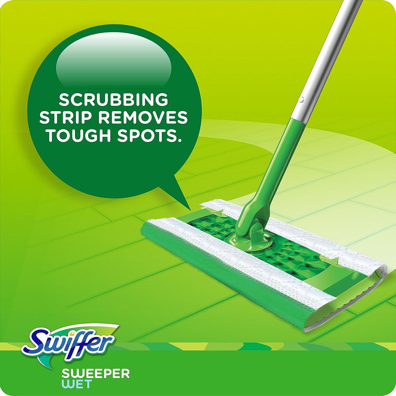 Swiffer Sweeper Wet Mopping Pad Refills for Floor Mop with Febreze Sweet Citrus /& Zest Scent 12 Count