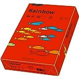 Papyrus 88042483 Ramette de 250 feuilles de papier multifonction Rainbow A4 160 g/m² (Rouge)