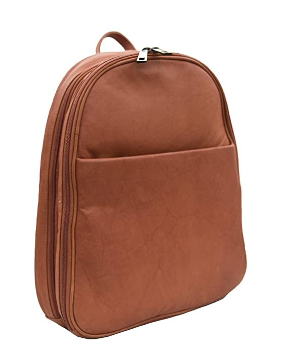 3fe39ce8b742 Prime Hide Soft Tan Leather Fashion Backpack - Style 908  Amazon.co.uk   Shoes   Bags