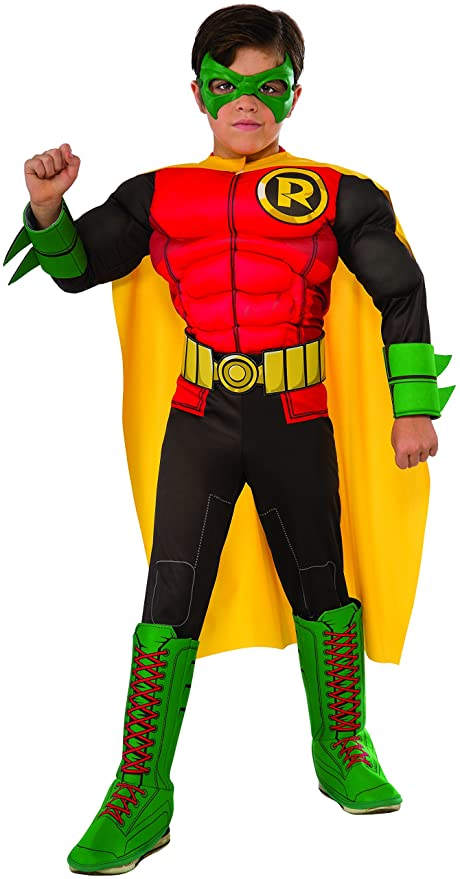 Rubieu0027s Childu0027s DC Superheroes Robin Costume Small  sc 1 st  Amazon.com : superheroes costume  - Germanpascual.Com