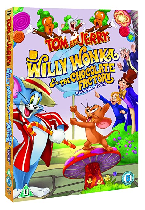 Tom And Jerry  Willy Wonka   The Chocolate Factory DVD 2017  Amazon.co.uk   Spike Brandt 35c6cdf81d93