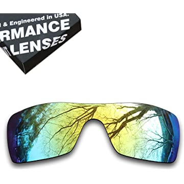 bf18dfda001 ToughAsNails Polarized Lens Replacement for Oakley Batwolf OO9101 Sunglass  - More Options