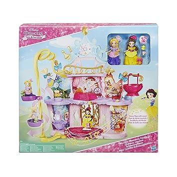 Disney Princess - Castillo para Mini Princesas con Dulces Melodías (Hasbro C0536EU4)