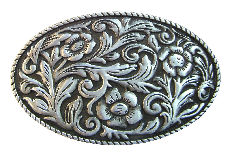 Spirit of Isis B124/Belt Buckle Floral Ornament