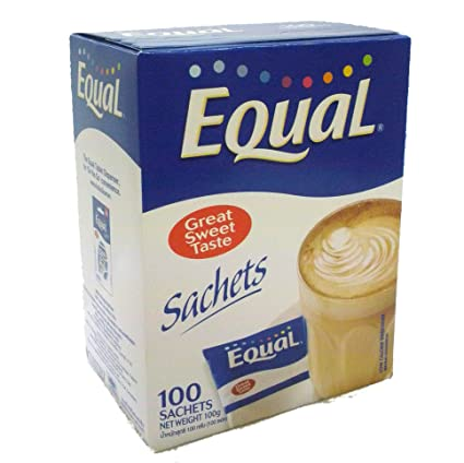 amazon 砂糖の200倍の甘味料 イコール equal 100包 並行