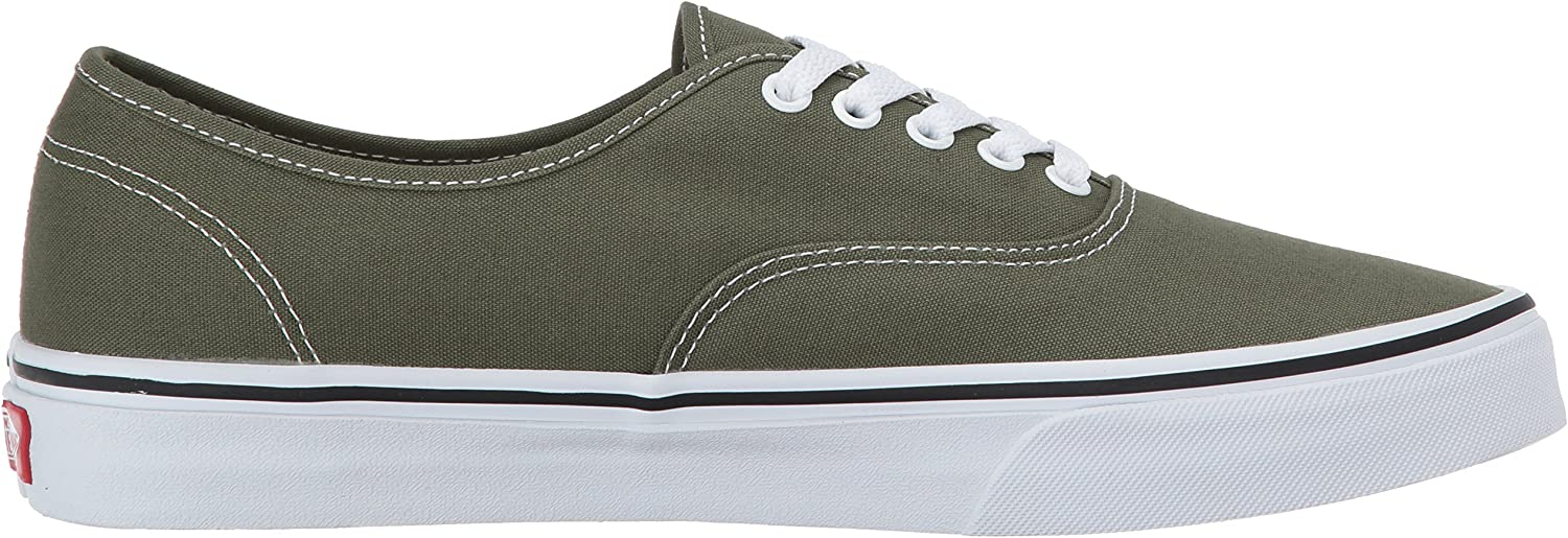 Vans Men's Low-Top Sneakers Green (Winter Moss/True White)