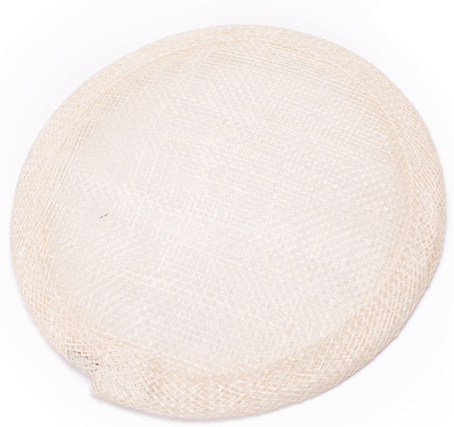 """Lawliet 4.7"""" Round Sinamay Hat Fascinator Base Millinery Craft Making Material B067"""