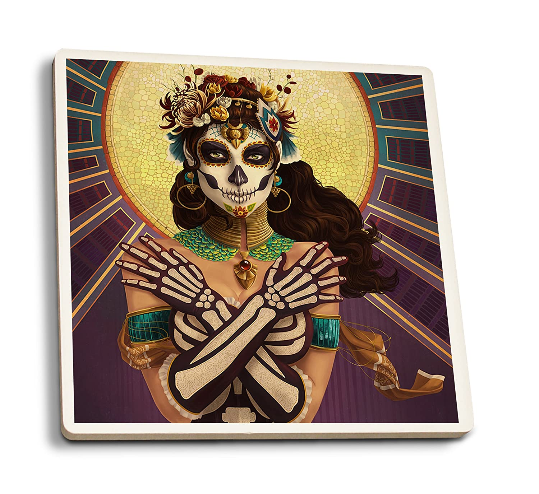 納得できる割引 Day of Crossbones the the Dead – Crossbones 11 x 14 Set Matted Art Print LANT-47346-11x14M B0192R844K 4 Coaster Set 4 Coaster Set, 創寿苑:dae2d010 --- mcrisartesanato.com.br