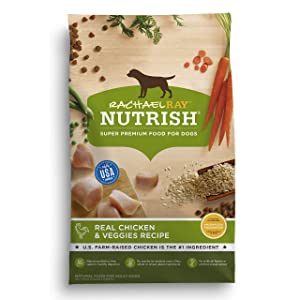 Dry Dog Food Nutrish Real Chicken & Veggies Recipe by Rachael Ray