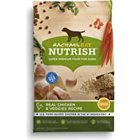 Rachael Ray Nutrish Natural Dry Dog Food, Real Chicken & Veggies Recipe, 28 Lbs