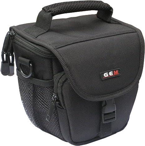 GEM N100178NCP510 Caja compacta Negro Estuche para cámara fotográfica: Amazon.es: Electrónica