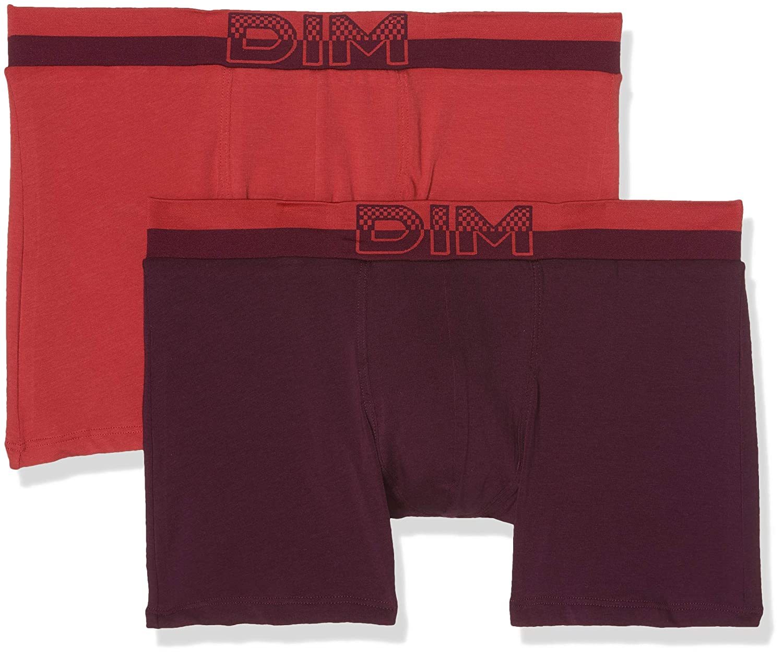 Dim Soft Touch Pop Alg. Cintura Sin Costuras Boxer (Pack de 2 para Hombre