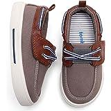 tombik Toddler Boys & Girls Boat Shoes Kids Canvas Sneakers (Toddler/Little Kid)