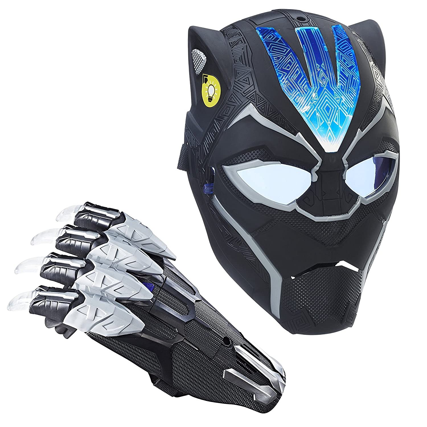 Marvel Black Panther Vibranium Power FX Mask and Claw Bundle Hasbro Inc.