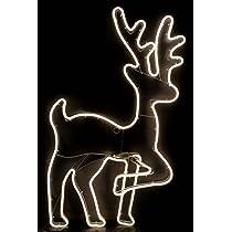 Led Stern Elch innen und außen warmweiß Neon SMD Lichtschlauch Rentier Sterne