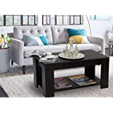 ComfyBean - Coffee Table (Eames) - Modern Design - Elegant Finish (Color : Wenge)