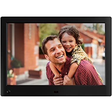 NIX Advance Digital Picture Frame, with HD Video, Hu Motion Sensor and USB/SD Card Playback - X10H