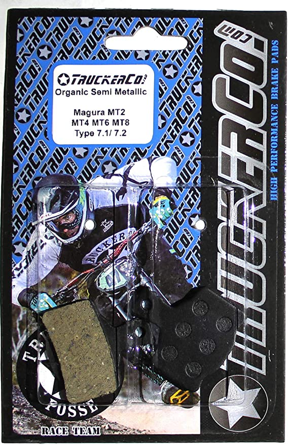 N/&T Magura MT6 MT8 MT8 Carbon Type 7.1 7.2 7.4 Semi Metallic Disc Brake Pads