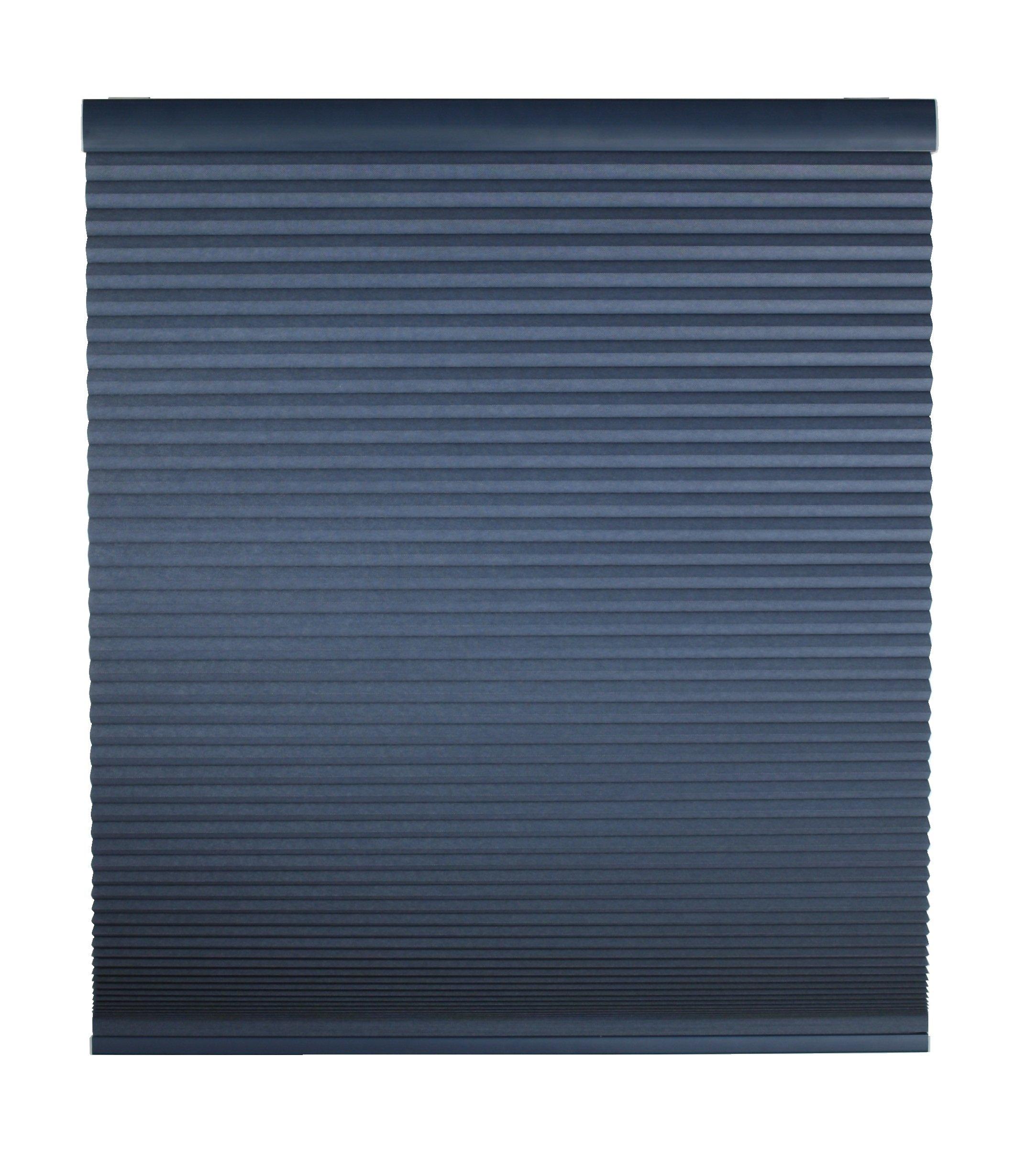 Cordless Blackout Cellular Shade 58 '' W X 48 '' L - Deep Blue