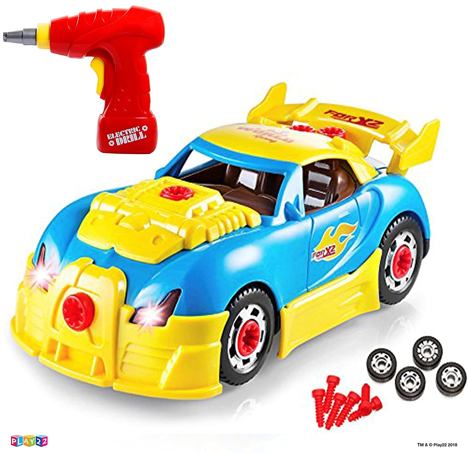 Play22 Take Apart Racing Car O...