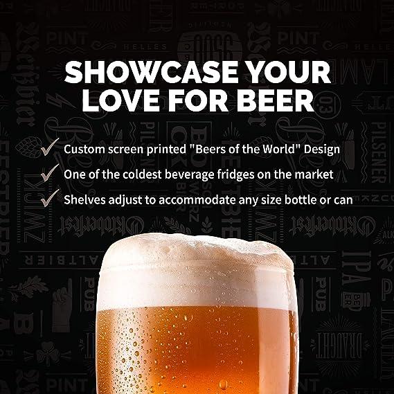 Nevera NewAir para bebidas con capacidad para 126 latas, minibar ...