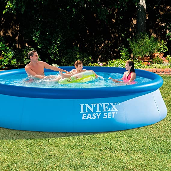 Intex 28130NP - Piscina hinchable Easy Set 366 x 76 cm, 5.619 ...