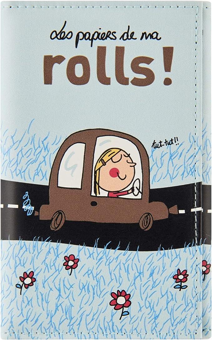 Derrière La Porte Ma Rolls Papierhalter Für Auto Koffer Rucksäcke Taschen