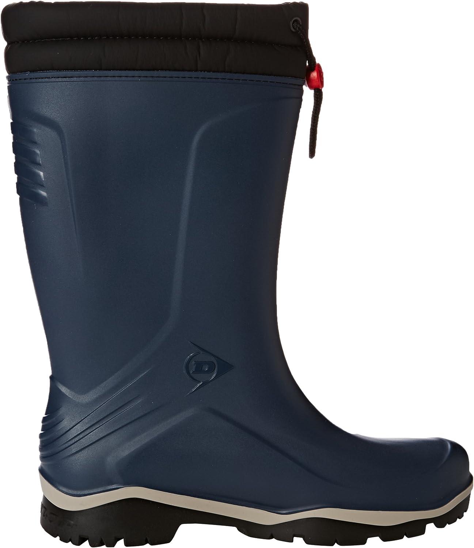 Winter Gummistiefel Dunlop Blizzard blau