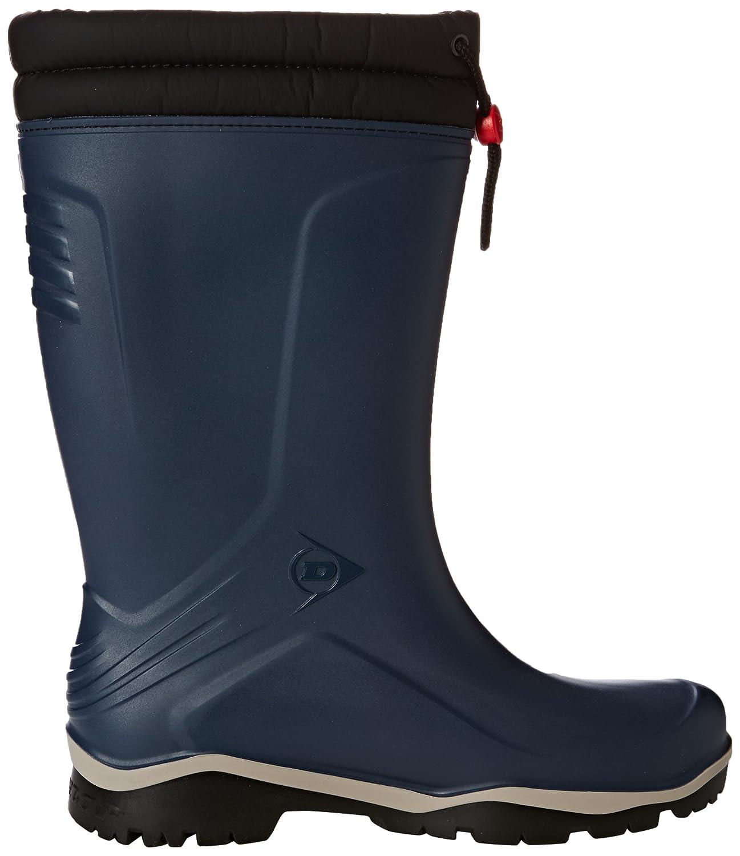Blau Dunlop K454061 Blizzard Gummistiefel Blau 04 Blauw 39 EU