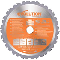 Evolution Elektriska verktyg – RAGE multifunktionssåkblad 185 mm med volframkarbidbeläggning
