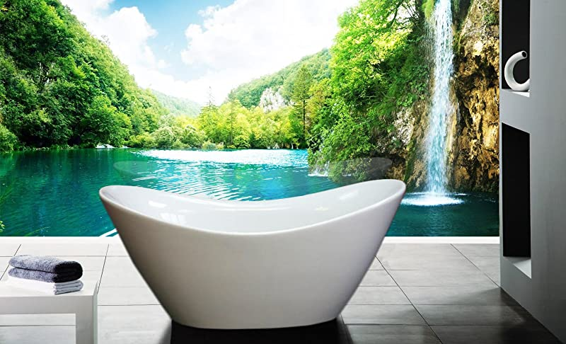 AKDY soaker tub for bathroom