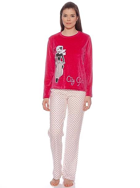 MARIE CLAIRE Pijama Mujer Vespa Fresa L