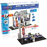 Snap Circuits BRIC: Structures | Brick & Electronics Exploration Kit | Over 20 Stem & Brick Projects | Full Color Project Man