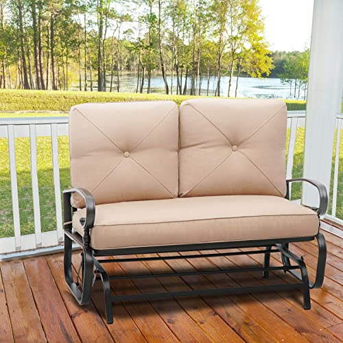 SKIWAY Outdoor Glider Bench