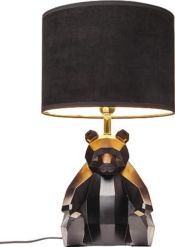 lampe de table ours noir